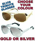 ADULTS MIRROR ELVIS PRESLEY STYLE LOOKING JOKE SUNGLASSES GLASSES FANCY DRESS
