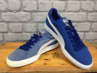 PUMA MENS UK 6,7,8,9,10 CLASSIC SUEDE MID BLUE TRAINERS RRP £55 *REDYE PROJECT*