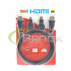 3 in 1 High Speed HDMI to Mini/Micro HDMI Adapter Cable for PC PS4 DVD TV New