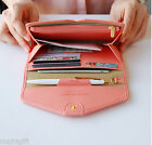 Tripping Pop Wallet Trifold Purse Card Money Pocket Passport Travel Organizer