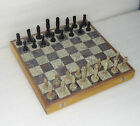 """18"""" Big Marble Luxury Heavy Chess Set Wooden Box Soapstone Handnade Gifts"""