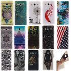 14 Design Paint TPU Silicone Rubber Protective Case Cover For Samsung Galaxy