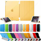 UK Smart Stand Magnetic Leather Case Back Cover for Apple iPad 4 3 2 Mini Air