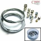 NEW UNIVERSAL INNER CLUTCH THROTTLE BRAKE CABLE REPAIR KIT MOTORCYCLE NIPPLES