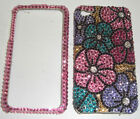 Crystal BLING Case For IPHONE 4 5 6 4.7 Plus 5.5 Made With SWAROVSKI Elements