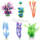 Plastic Simulated Sea Fish Artificial Plants Aquarium Tank Grass Decor Green New