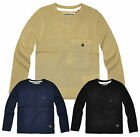Boys Crew Neck Jumper Knitted Sweatshirt Kids Sweater Tops New Ages 2-8 Years