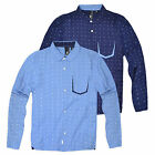 Boys Printed Long Sleeved Shirt New Button Up Kids 100% Cotton Top Age 2-8 Years