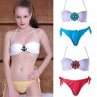 Sexy Women's Diamond Flower Bikini Set Padded Bra Tops Swimsuit Bathing Swimwear
