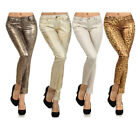 Bonage Fashion Designer Animal Print Women's Skinny Pants - Multiple Styles