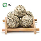 Ball-Shaped Bai Hao Yin Zhen Handmade Silver Needle Pearl White Tea