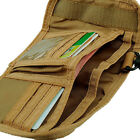 Deluxe Tri-Fold Wallet ID Credit Card Holder MOLLE Tactical Wallet Strap E1