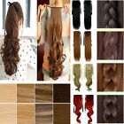 Drawstring ponytail real as women pony tail clip in hair extension hairpiece 3S8