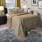 3 Piece Quilted Blanket Bed Spread Color Choice King 100 x 86 image