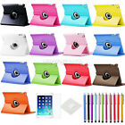 For iPad Air 1 1st Gen 360 Rotating PU Leather Case Cover w/ Stand NG