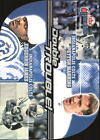 2001 Fleer Game Time Double Trouble #3 Peyotn Manning/Edgerrin James Colts