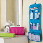 Canvas Waterproof Travel Toiletry Wash Cosmetic Hanging Bag Storage Case Hanger