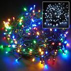 100/200/400 LED Chaser String Fairy Lights Indoor Outdoor Xmas Christmas Party