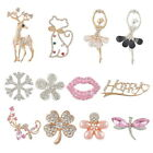 1PC Metal Rhinestone Flat Back Scraphook Cabochons for Phone Case DIY Craft