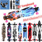 "Professional 41"" X 9"" Longboard Skateboard Cruiser Through downhill Complete"