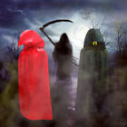 New Cloak Adult Long Hooded Cape Medieval Halloween Party Costume Fancy Cosplay