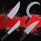 Haunted House Prop Horror Weapon Sickle Knives Cutter Halloween Decor Tricky Toy