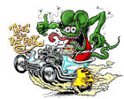 Внешний вид - RAT FINK Vinyl Decal / Sticker ** 5 Sizes **