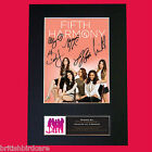 FIFTH HARMONY Autograph Mounted Signed Photo Reproduction Print A4 577