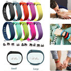 10Pcs Large/Small Replacement Wrist Band Wristband For Fitbit Flex with10 Clasps