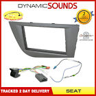 CT24ST29 Seat Leon 2005 On Car Stereo Fascia Facia Steering Wheel Interface Kit