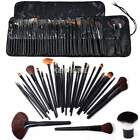 32 Superior Professional Soft Cosmetic Makeup Blusher Brush Set + Pouch Lot K0E1