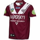 MANLY SEA EAGLES NRL 2015 OFFICIAL ISC MENS ADULT HOME JERSEY SUPPORTER