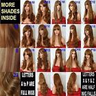AUBURN GINGER Curly Layered Full Wig Ladies Fashion Fancy dress wigs #4/27/30