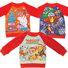 Official Childrens Despicable Me Minions Christmas Jumpers 2-12 Years Boys Girls