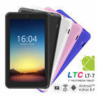 """Beliebt! IPS 7"""" A33 Android 5.1 Quad Core Dual Kamera Tablet PC Pad 3G WiFi DHL"""