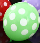 FD1921 Latex Polka Dot Balloon Party Wedding Holiday Decorating ~Green~ 5pcs G
