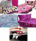 Disney Mickey Mouse and Minnie Sheet Sets -  Minnie Pillowcase Flat Fitted Set