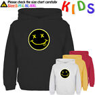 Nirvana Kurt Cobain Music Rock Band Pattern Kids Gift Boy Girl Sweatshirt Hoodie