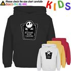 The Nightmare Before Christmas Pattern Kids Gift Boy Girl Sweatshirt Hoodie Tops