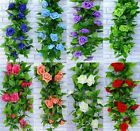8.2ft Artificial Silk Rose Flowers Garland Wedding Garden Party Home Decoration
