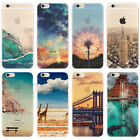 Transparent Ultra Slim Stereoscopic Clear Soft Case Cover For iPhone 6S Plus 6 5