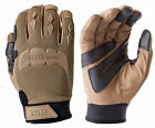 HWI MG300 Touchscreen Compatible Tac-Tex Tactical Mechanic Gloves, Coyote Brown