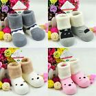 New Baby Children Cotton Socks Warm Soft Cartoon Terry Socks For 0-3 Years Old W