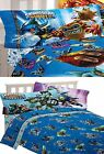 Skylanders Sheet Set - Boys Kids Bedroom Spyro Flat Fitted Sheet Pillow Cover