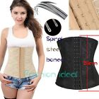 Steel boned Underbust Body Control Waist trainer Corset Top Shaper Size 6-24 F10
