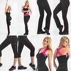 Stretch Fajate Fit Woman's Work Out Push Up Pants, Capri, Tops, Tanks, Sweet
