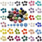 5/20pcs Crystal Rhinestone Disco Ball Fit Shamballa Bracelet Gradient 25 Colors