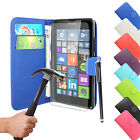 New Flip Wallet Leather Case Cover For Nokia/Microsoft Lumia Phone + Best Offer