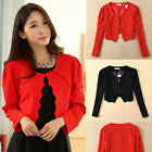 women's long sleeve jacket solid Lotus lace everyday casual shawl coat plus size