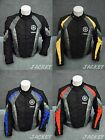 New Nylon Motorcycle Jacket for  R1 R6 YZF Blue Red Yellow L XL Yb 33#G